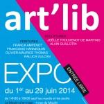 exposition en Champagne Art'Lib